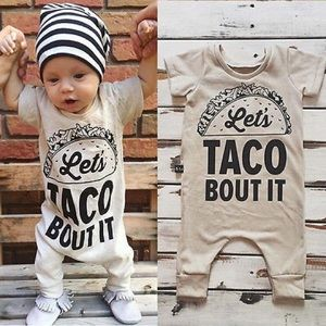 Other - Lets Taco Bout It Jumper Baby Onesie Romper